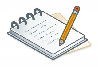 Papel e caneta